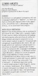 Regia liberoAmleto 1-2